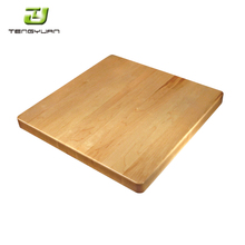 Home Useful Rectangle Natural Color Birch Dining Solid Wood Table /T700