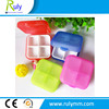 4 compartment plastic case for medication pill packing