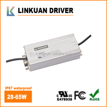 LINKUAN manufacturer IP67 waterproof power supply 60W 5a led driver 12v