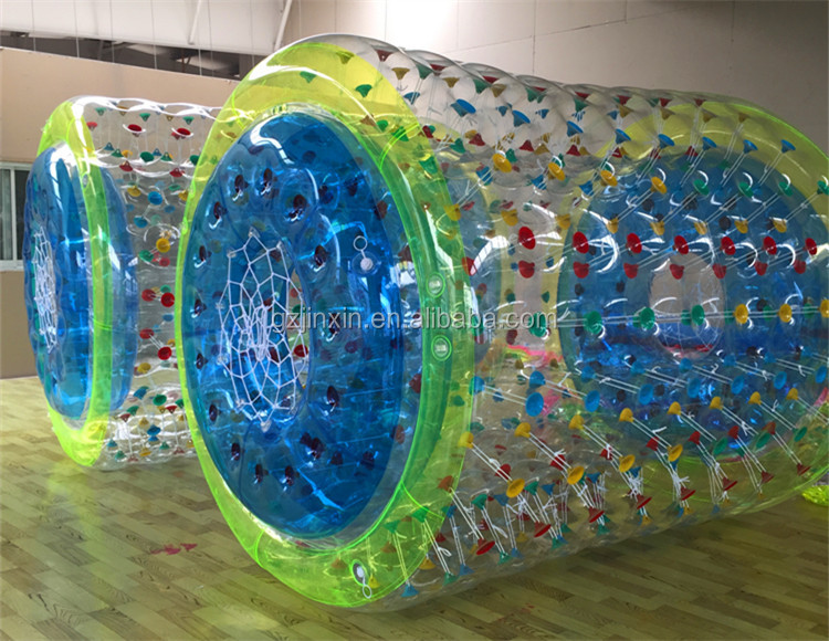 High Quality Inflatable Bouncing Water Game LED Zorb Balls Person Inside Walking Roller TPU Material Water Rolling Ball For Sale