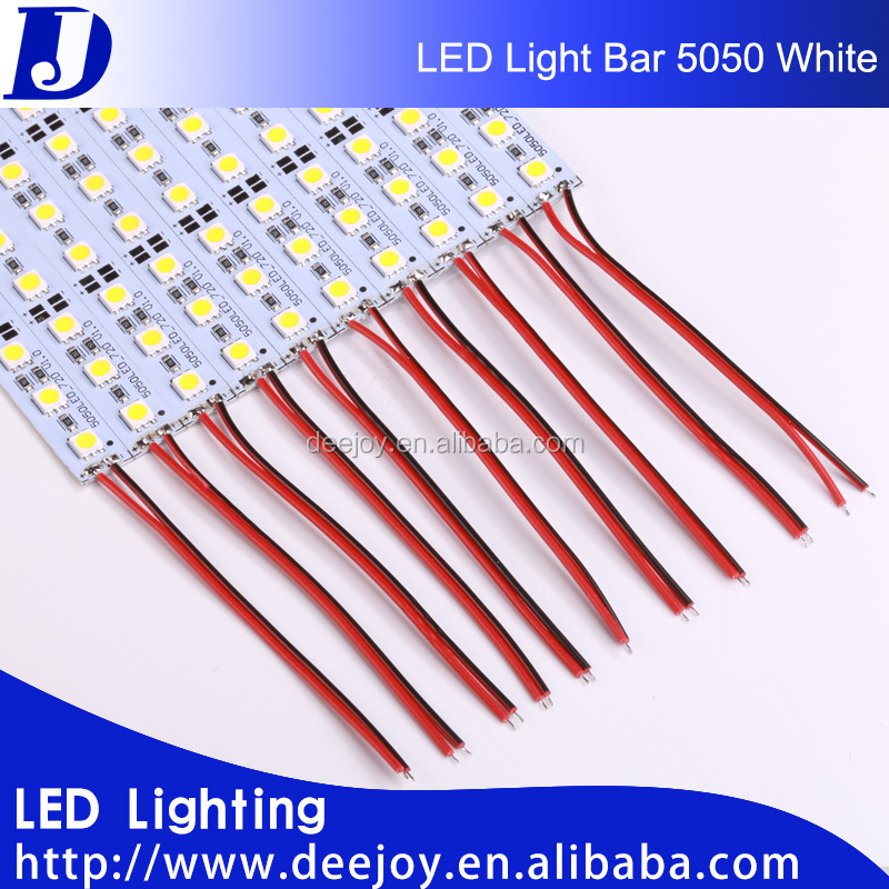 smd 5050 rigid strip white led light bar for wholesale indoor lighting