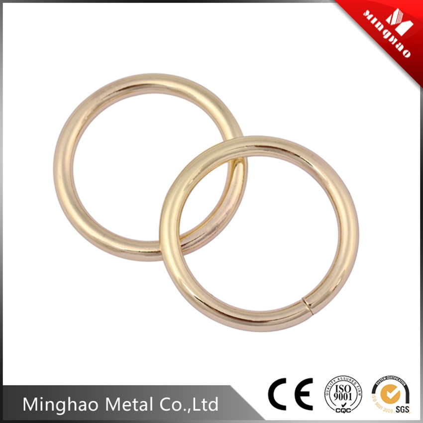 handbag round wire iron buckle,38.22mm metal buckle for bags
