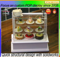 custom New Hot Sale Acrylic Cake Pops display Stand cabinet