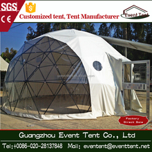 Professionally made large size dome tent, outdoor geodesic dome tent, mobile dome tent for living room