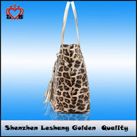 Leopard Fashion Handbag for woman,2014 the Newest bags woman name brand handbags wholesale