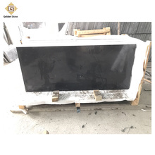 Factory wholesale 2cm thick black absolute marble price