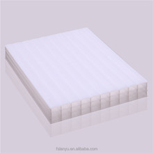 UV resistant transparent solar panel four wall hollow plastic pc polycarbonate sheet for building roof