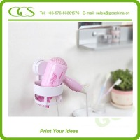 cheap wall mounted hair dryer holder best selling silicone salon holster acrylic makeup brush stand