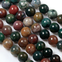 Wholesale Natural indian agate loose beads gemstone for jewelry making