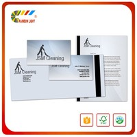Large quantity catalogue magazine printing company letterhead printing
