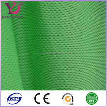 Sports apparel100% cationic polyester mesh jersey fabric wholesale