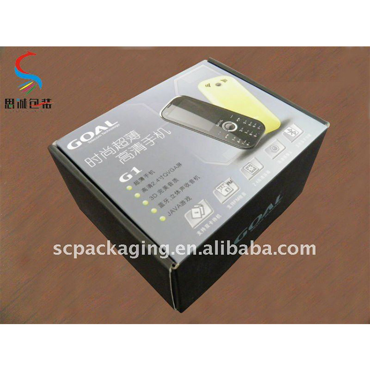 high quality color box for mobile phone