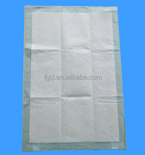 Disposable hospital underpads /medical absorbent under pads with stickers for pet