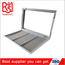 Newest HVAC aluminum ceiling air diffuser air conditioning linear exhaust return filter air grille