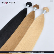 fast shipping 6a grade ombre color human hair weft 8-30 inch ombre light brown weave hair three tone hair extension