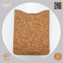 2013 Top rated natural colour cork smart cover for ipad mini cork for kids