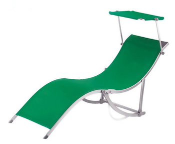 Outdoor folding chaise lounge with canopy buy chaise for Canopy chaise lounge
