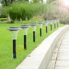 8-pack Solar Path Lights for Path, Patio, Deck, Driveway and Garden