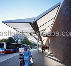 ETFE with 30 years guaranty membrane structure Toll station