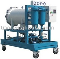 LYC200J coalescence dehydration water separator oil filter machine
