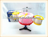 Kids musical instrument plastic 3D electric jazz set toy drum
