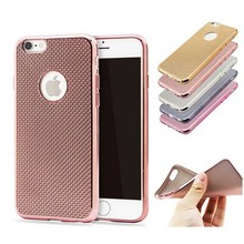 Ultra Thin TPU Electroplating Case for iPhone 7,for iPhone7 Soft Cover