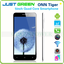 "2013 HotSale 5"" IPS Capacitive screen 1920*1080 ONN Tiger Smartphone Android 4.2 MTKQuad Core 1.5Ghz Wifi Bluetooth Gps Dual sim"
