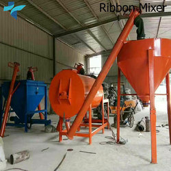 Construction Chemicals Production Plants, Simple Mortar Dry Mix Plant, Dry Mortar Machine for Mixing Mortar