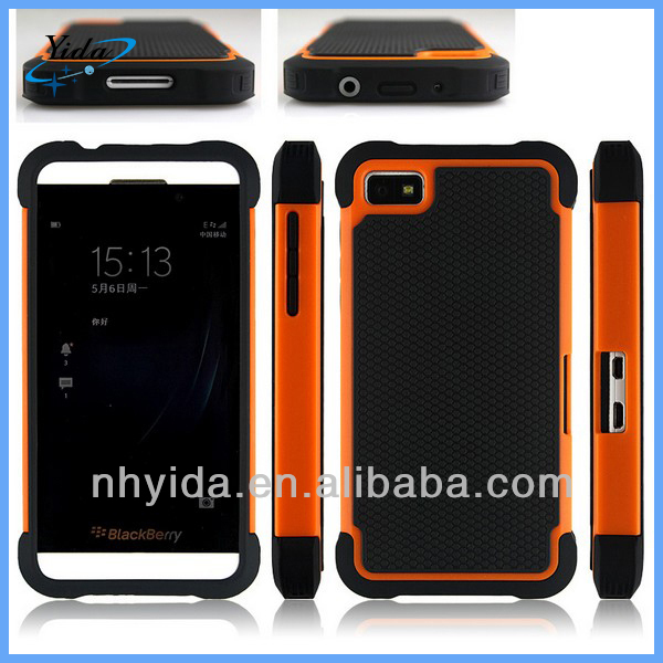 3 In 1 Rugged Case Cover For Blackberry Z10 Defender Phone Case For Blackberry Z10