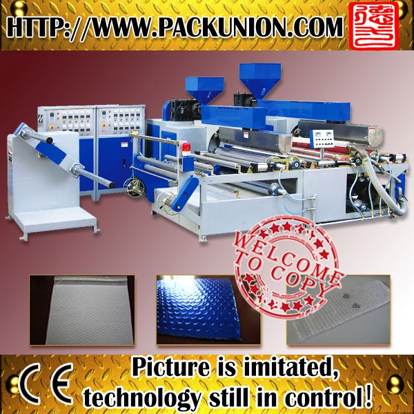 double layers bubble membrane production line for gas station