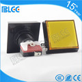 51*51mm Illuminated square push button for arcade game