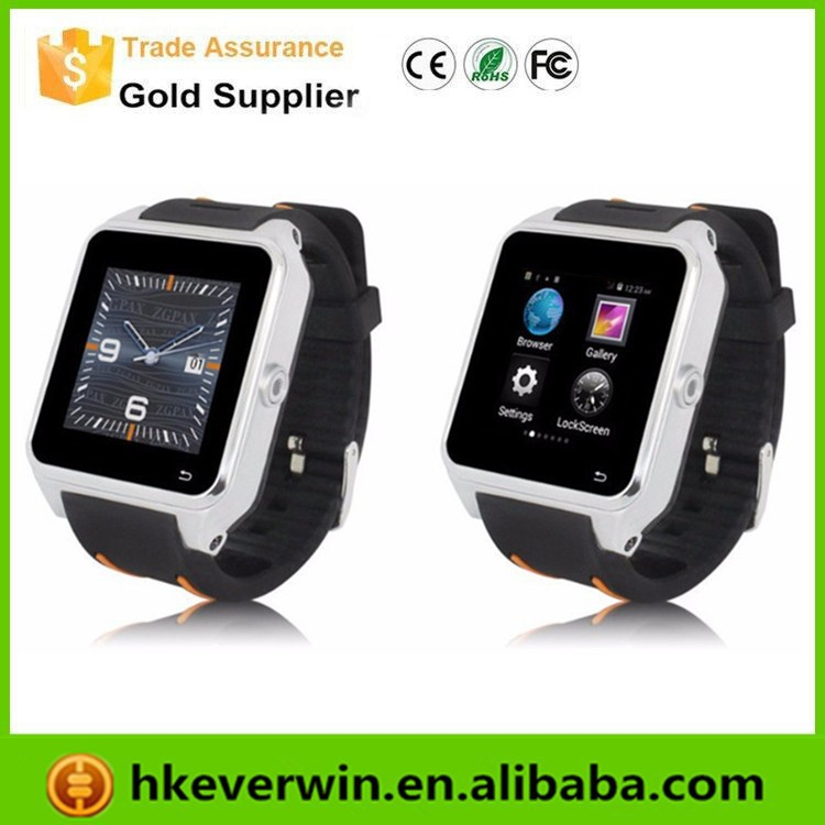 Hot Bluetooth S82 Smart Watch phone Android 4.4 MTK6572 Dual Core wifi GPS 3G Original