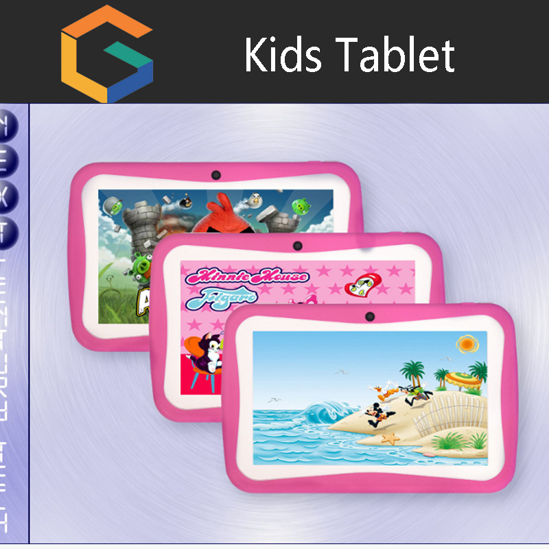 New Children kids study writing play learning pad education tablet for Kids,7 inch cheapest android tablet PC