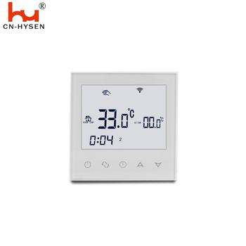 Wifi Water Floor Heating Motroized Valve Control Thermostat With IOS Android Phone Control