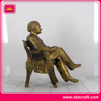 custom antique bronze statue sculpture figurine for sale