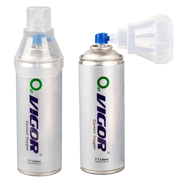 65*250mm portable oxygen aerosol spray/ air can / air can with mask