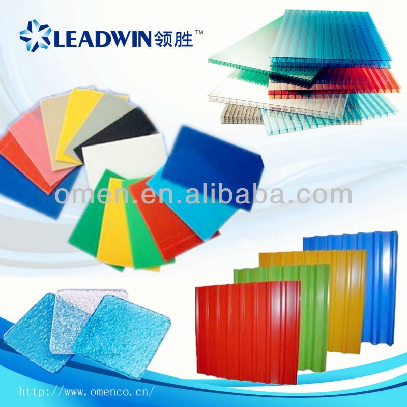 Leadwin High Quality recycled plastic sheet