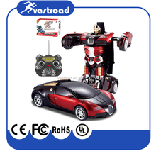 Newest Child toy Bugatti Veyron Transformations with Led light