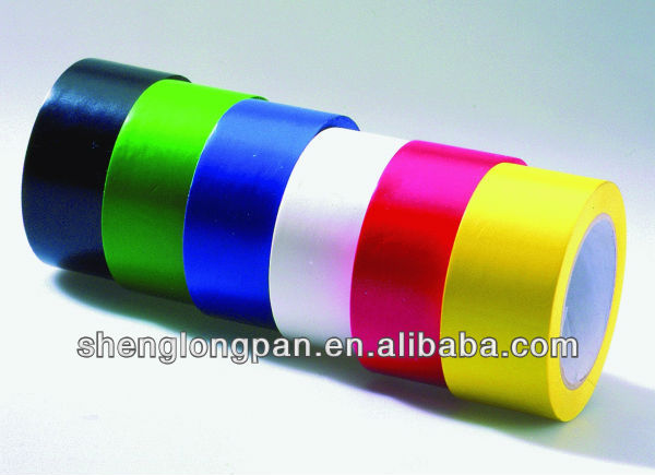 Colorful PVC Electrical Insulation Adhesive Tape