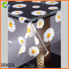 Transparent plastic printed tablecloth rolls
