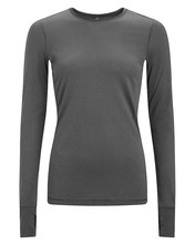 OEM quick dry breathable black long sleeve skin tight inner wear for women