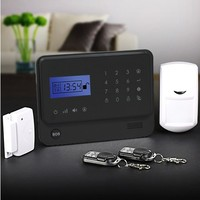 Personal Usage wireless gsm home security burglar alarm system sim card alarm G90E from Golden Security