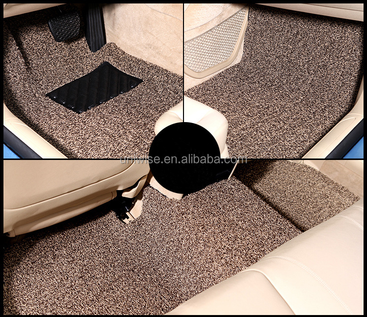 Good Quality Car Coil Floor Mat Pvc Vinyl Loop Anti Slip