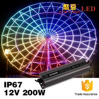 3 year warranty constant voltage waterproof 200w 24v power supply led driver IP67
