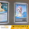 Ultra Slim Crystal Advertising Wall Mounted 24x36 LED Edge Lit Acrylic Poster Frame