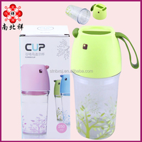 320 ML Double Wall Plastic Drinking Water Bottle with lid