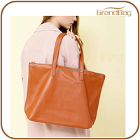 simple design PU leather women bag handbags women shoulder bags cheap ladies tote bag