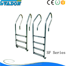 Swimming pool 304 stainless steel ladder/above ground pool steps