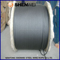6X37 steel wire rope for Ship and bridge
