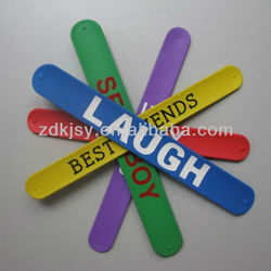funny cool kids slap wholesale wristband silicone